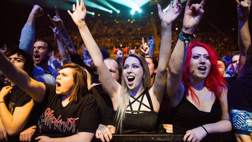 Det synes publikum om Slipknot i Forum