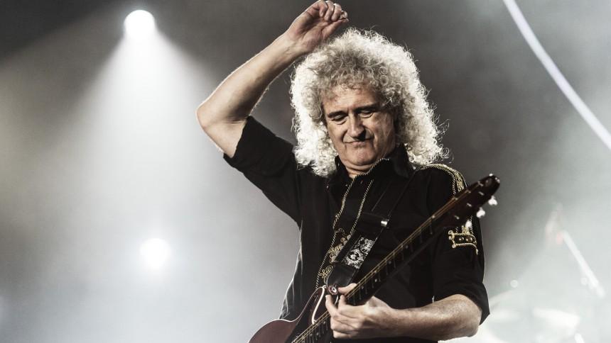 "KARANTÆNE-TV: Brian May lærer dig at spille soloen fra ""Bohemian Rhapsody"""