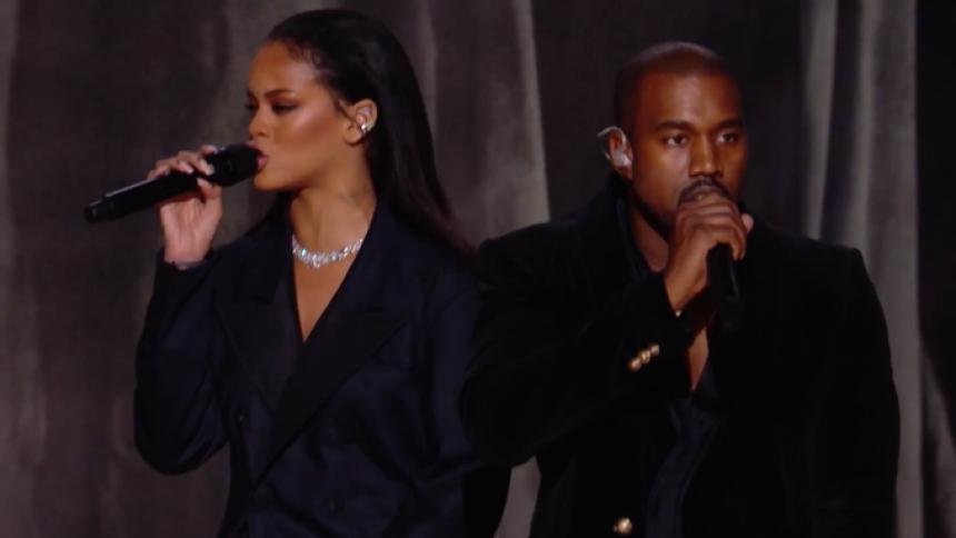 Rihanna og Kanye West tager på turné sammen