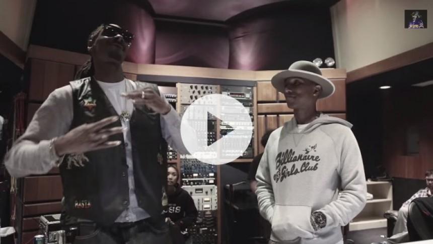 Se Snoop Dogg og Pharrell i ny videoteaser