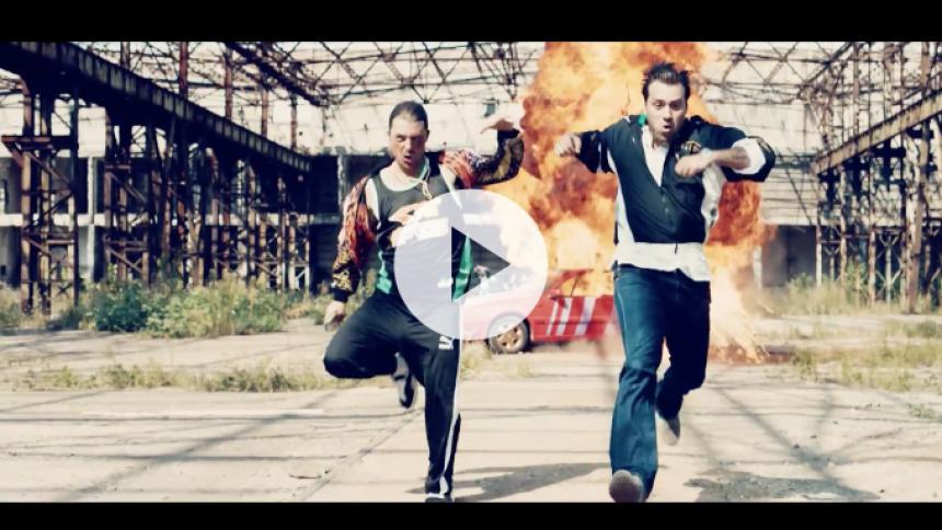 Se Axwell & Ingrosso i hæsblæsende menneskejagt