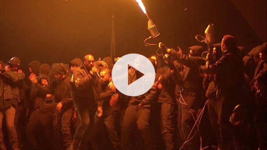 Kanye Wests brandfarlige optræden under Brit Award bliver til musikvideo