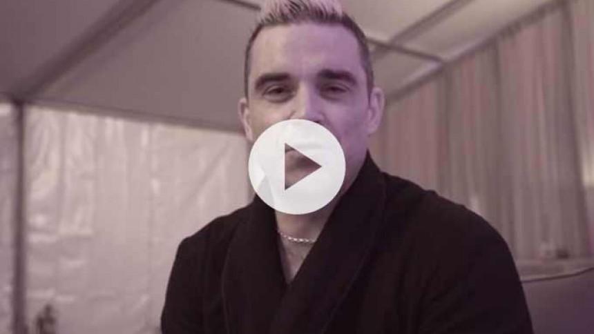 Video: Robbie Williams sender hilsen til Tinderbox-gæster