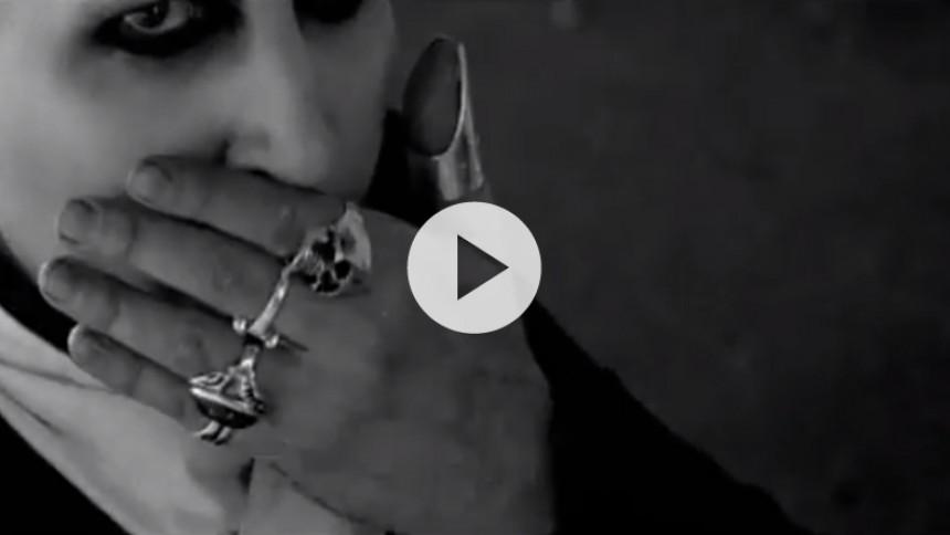 Se Marilyn Manson som tysk dæmon