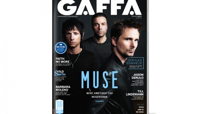 GAFFA juni er på gaden –med kæmpeinterview med Muse