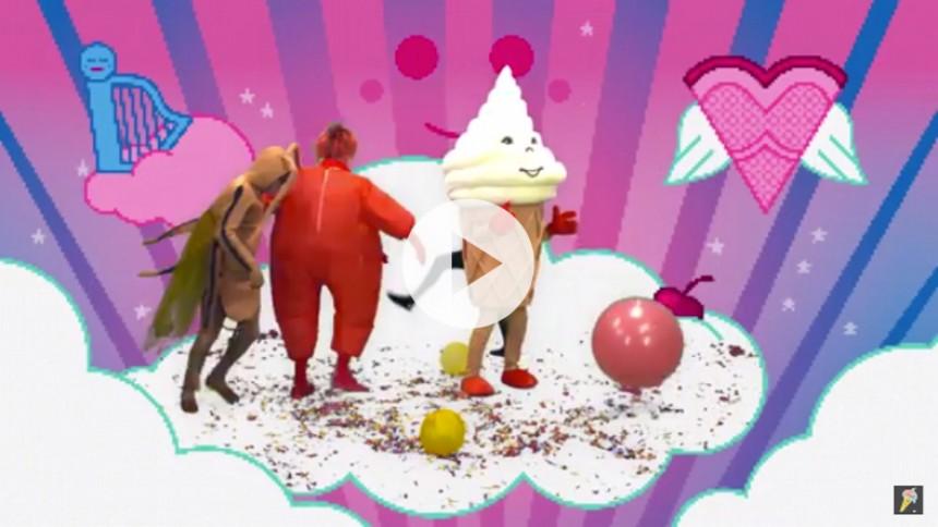 Se Blur give den som is-figurer i ny musikvideo