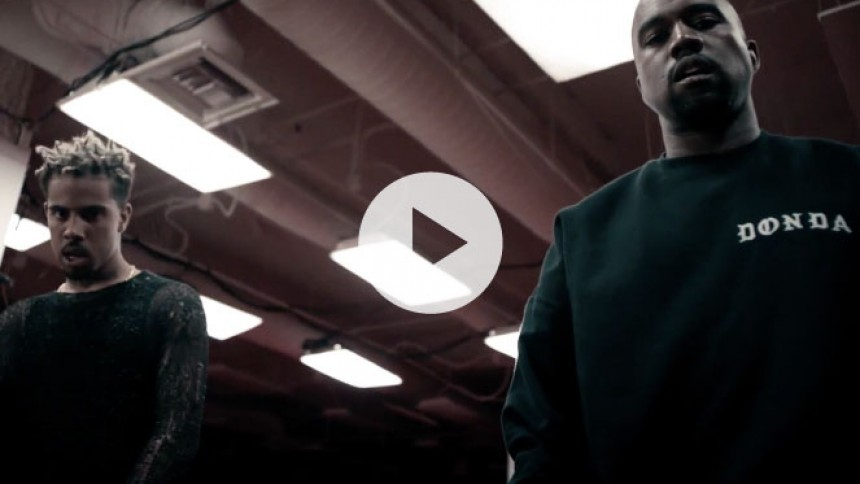 Video: Kanye West og Vic Mensa på kant med politiet