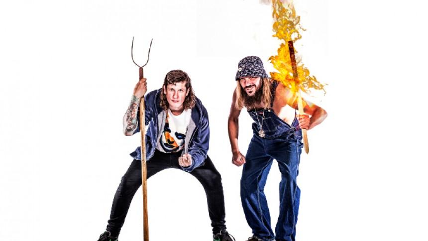 Jonny Hefty og Jøden tager på fælles turné til efteråret