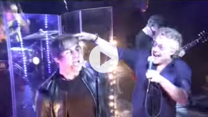 Video: Liam Gallagher og The Who-frontmand synger duet