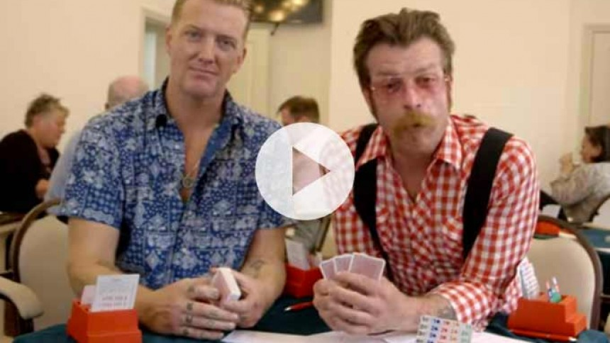 Se Josh Homme og Jesse Hughes præsentere nyt fra Eagles of Death Metal