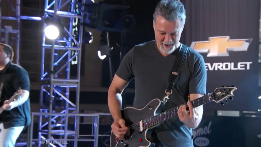 Van Halen: Jeg fik ikke kræft af rygning