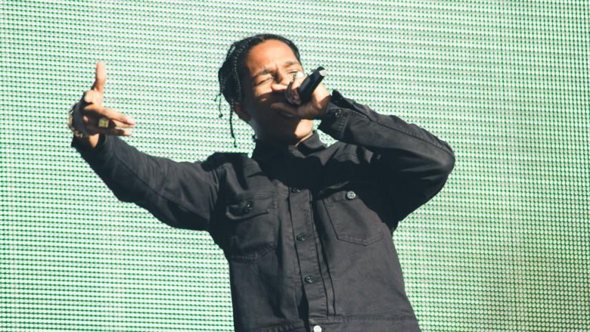 ASAP Rocky spiller sin første koncert efter løsladelse