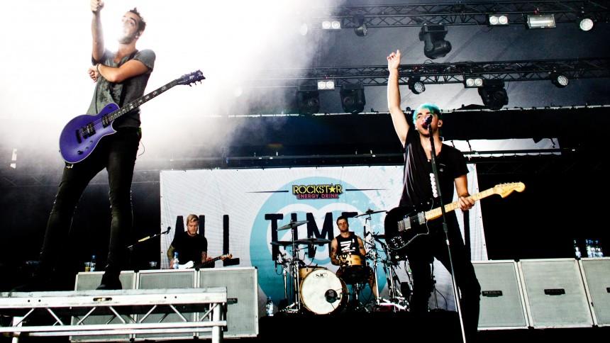 All Time Low offentliggør efterårskoncert i det danske land