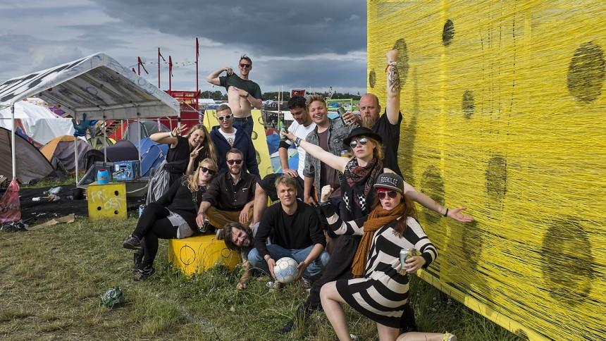 Dagens Camp på Roskilde: Vi vil fylde grusgraven med parmesan