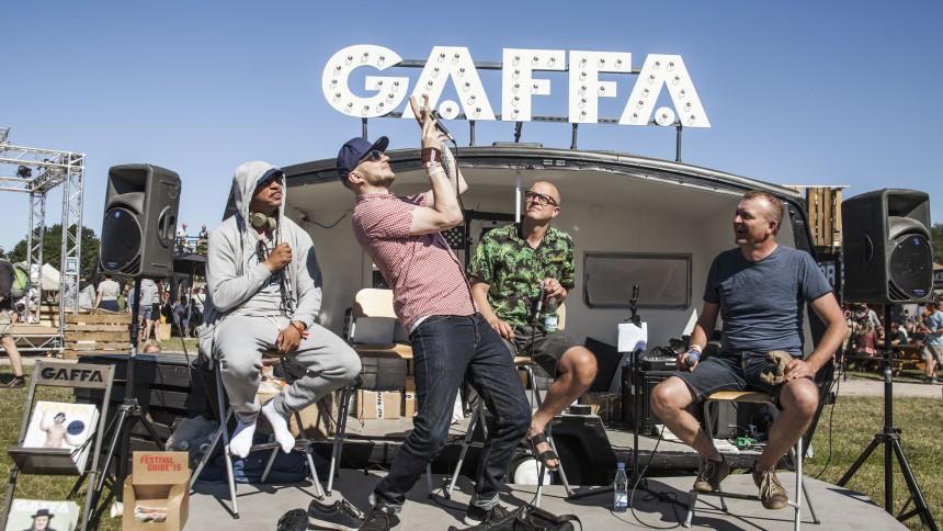 Bikstok i GAFFAs stand på Roskilde: Vi skal allesammen brække os i aften