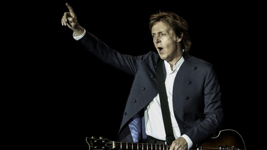 Paul McCartney: Roskilde Festival, Orange Scene