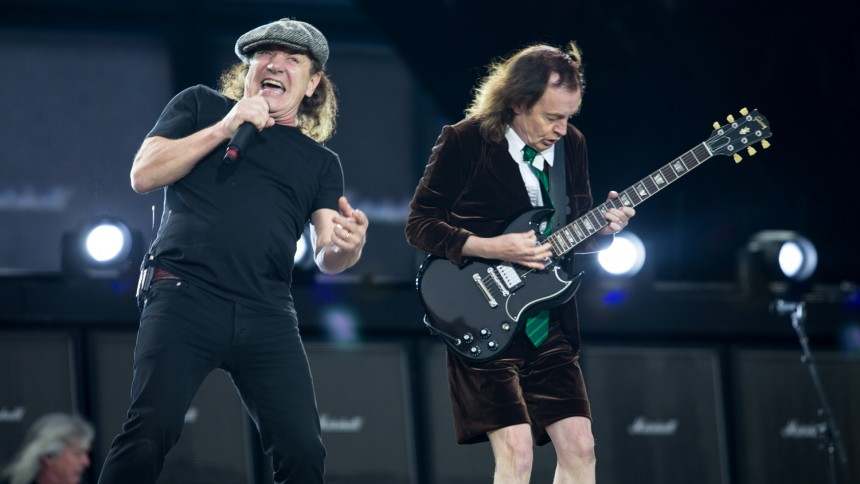 Er Brian Johnson tilbage i studiet med AC/DC?