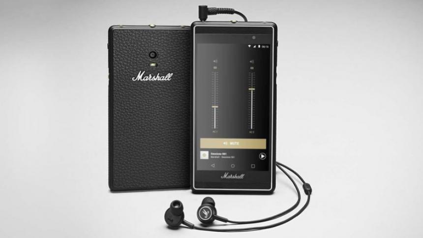 Marshall lancerer egen smartphone