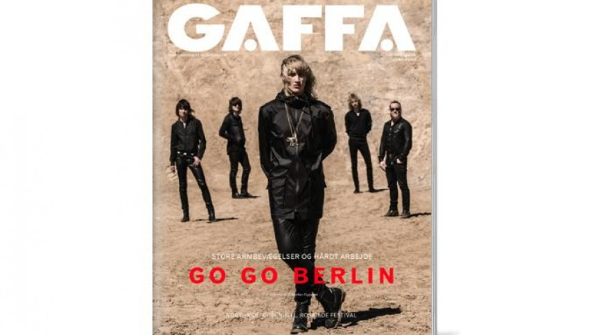 GAFFA august er på gaden –med stort Go Go Berlin-interview