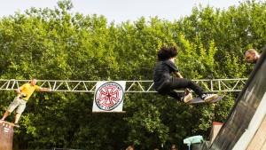 Skatekonkurrence på Grim Fest 010815