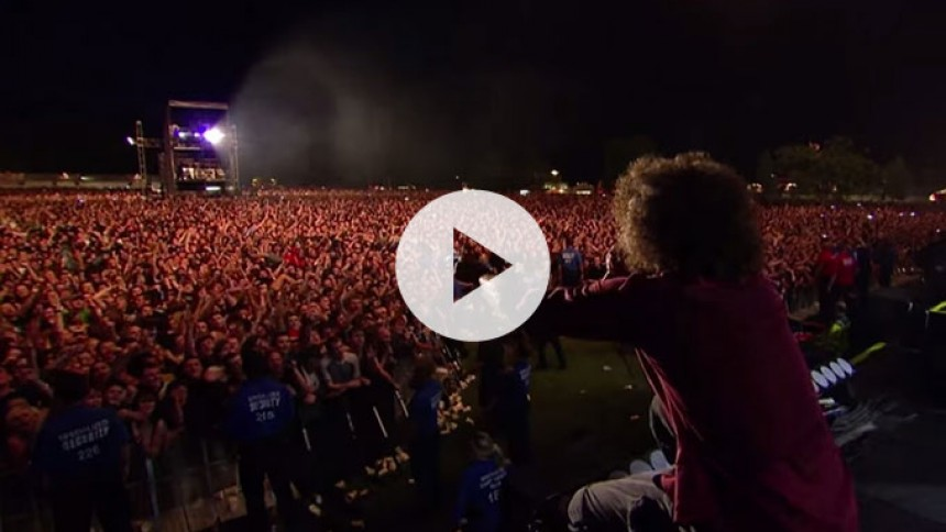 Smugkig: Rage Against The Machine udsender nyt live-materiale