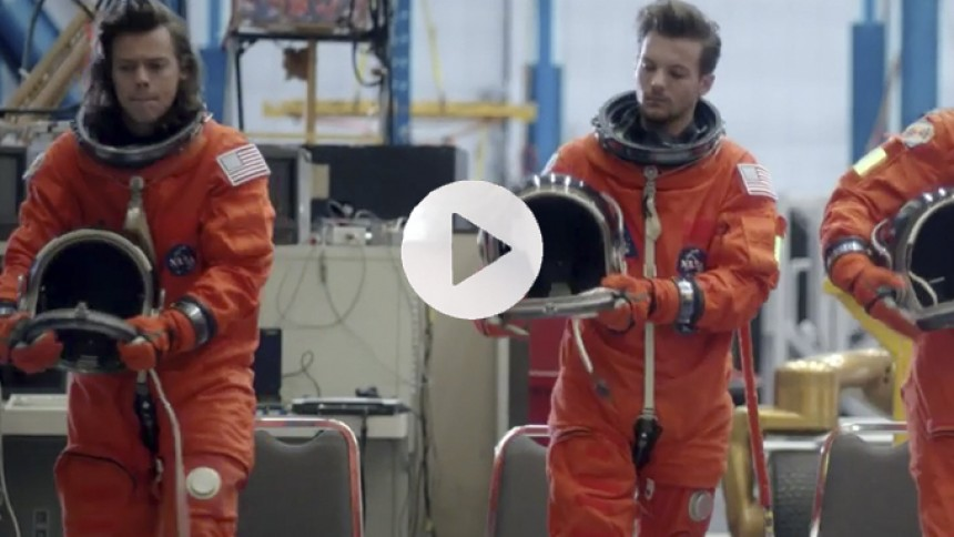 Se One Directions nye video – fra NASAs Space Center