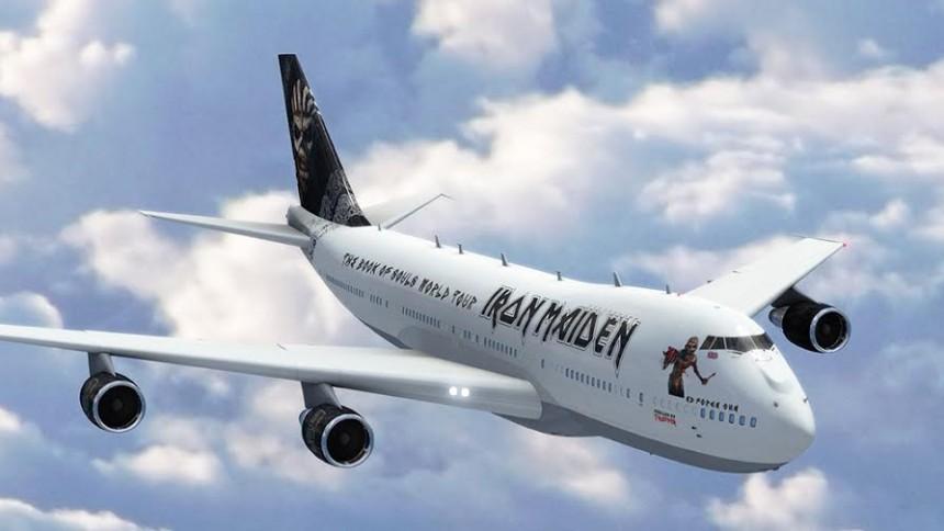 Iron Maidens turné får luft under vingerne