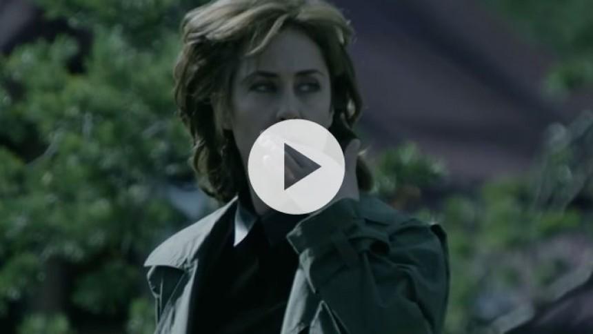 Se: Drabelig Sofie Gråbøl i ny a-ha-musikvideo