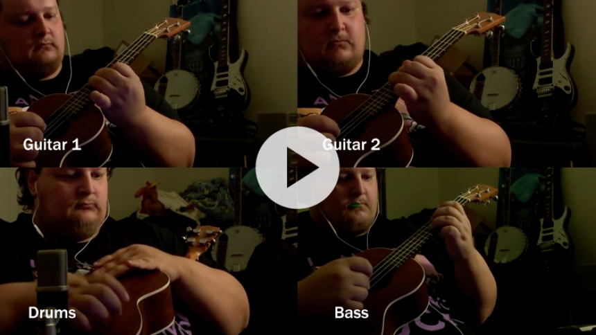 Hør Metallica-hit på ukulele