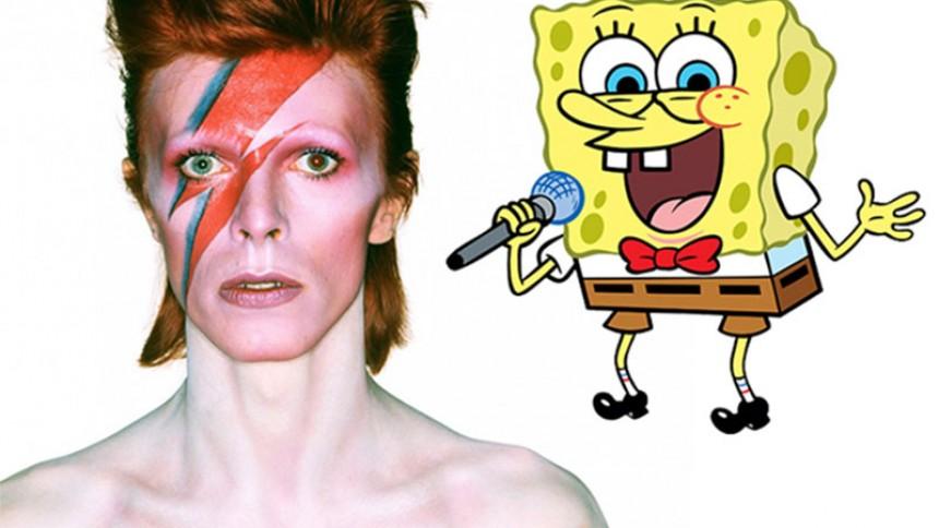 David Bowie og Aerosmith skriver musik til SvampeBob-musical