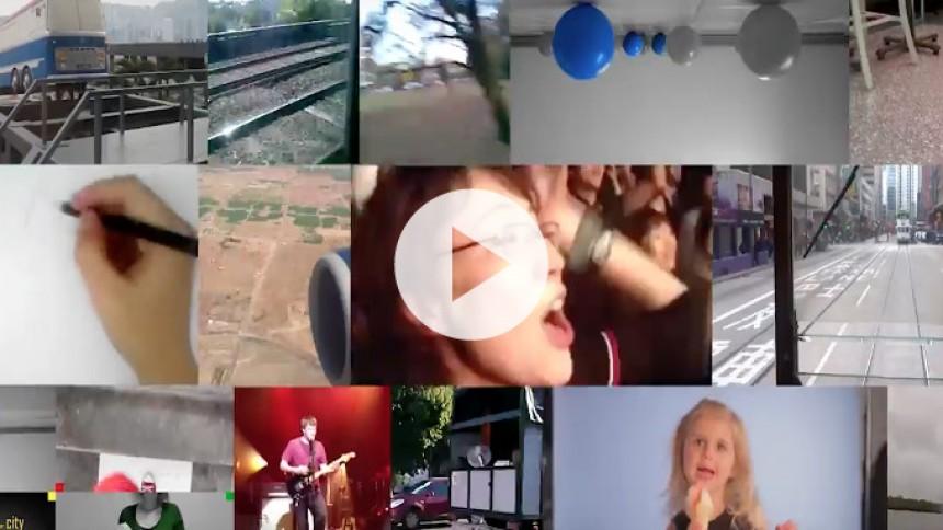 Video: Blur laver collagevideo med fanbidrag