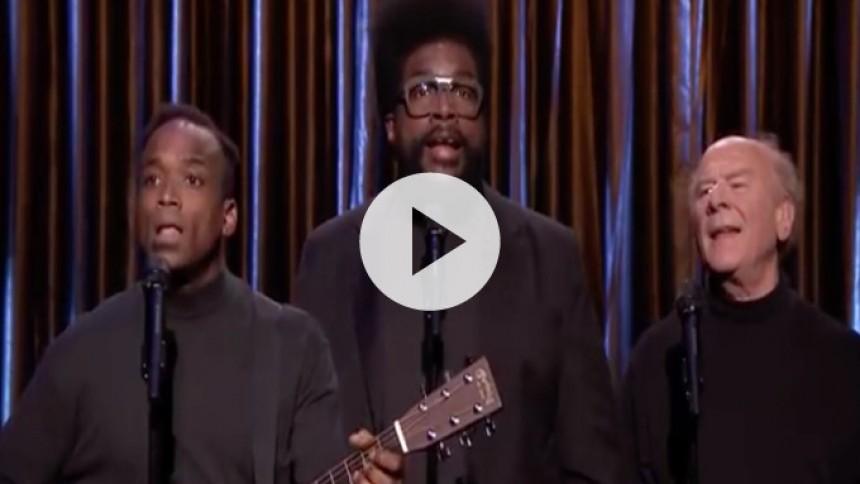 Video: Black Simon & Garfunkel fortolker The Weeknd