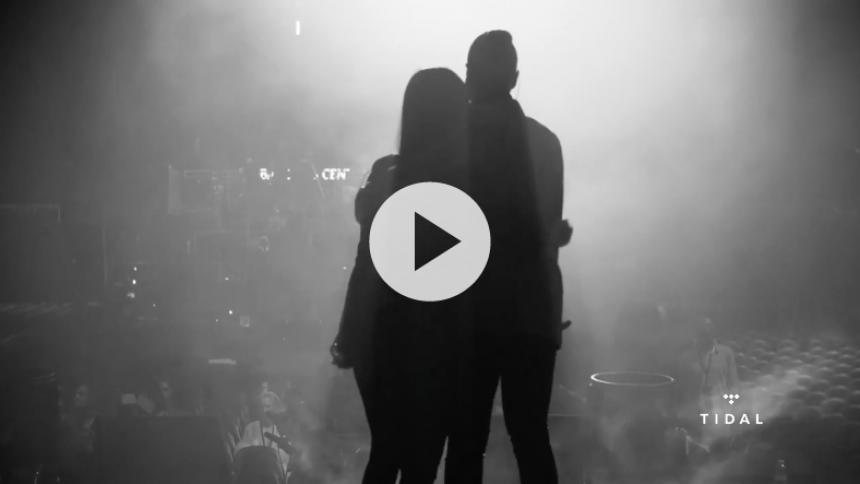 Se Beyoncé og Nicki Minaj duellere backstage