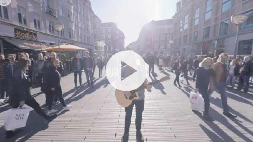 Premiere: Se Danmarks første 360 graders musikvideo