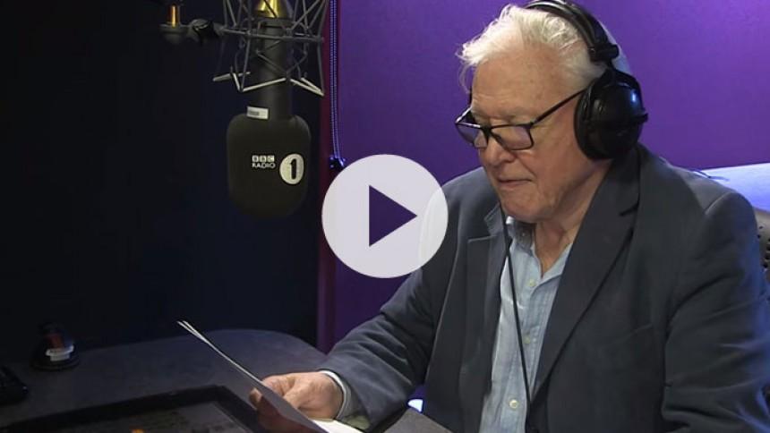 Video: David Attenborough agerer fortæller på Adeles Hello-video