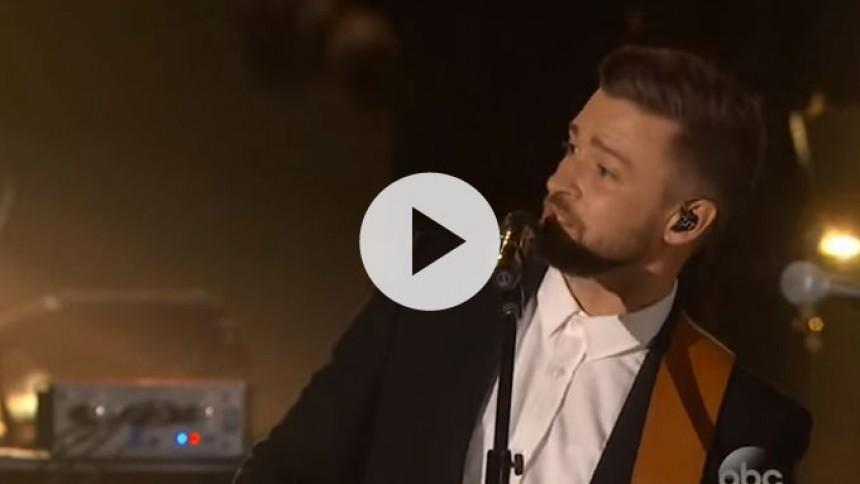 H R Justin Timberlake Og Chris Stapleton I Hjertevarm