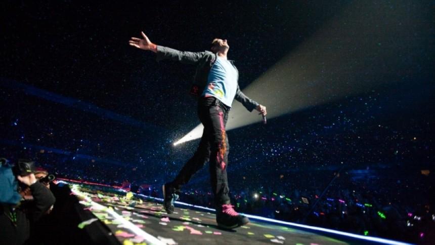 Hør Coldplays nye samarbejde med Beyoncé