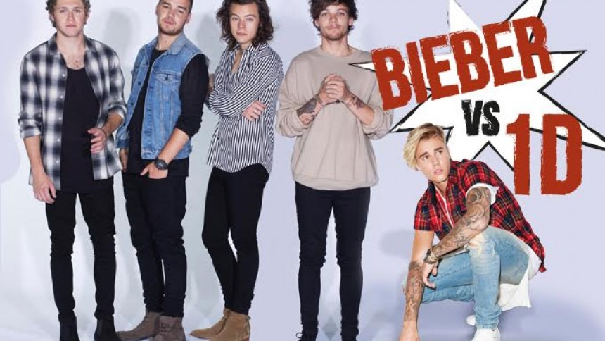 Justin Bieber versus One Direction: Hvem er størst?