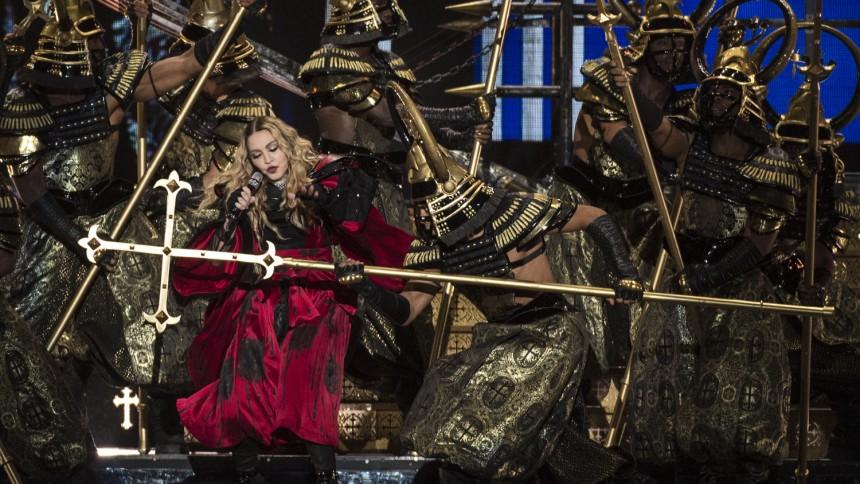 Kæmpe fotoserie: Madonna indtog Boxen