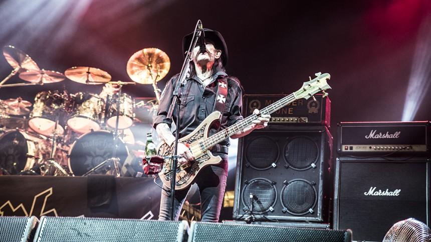 Motörhead tilbage på den britiske hitliste