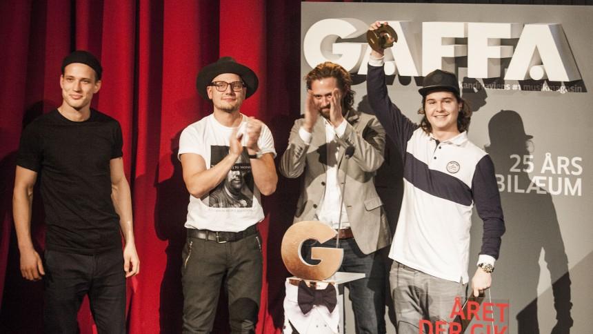 GAFFA-Prisen: Og vinderne er...