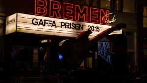 GAFFA-prisen 2015 stemningsbilleder