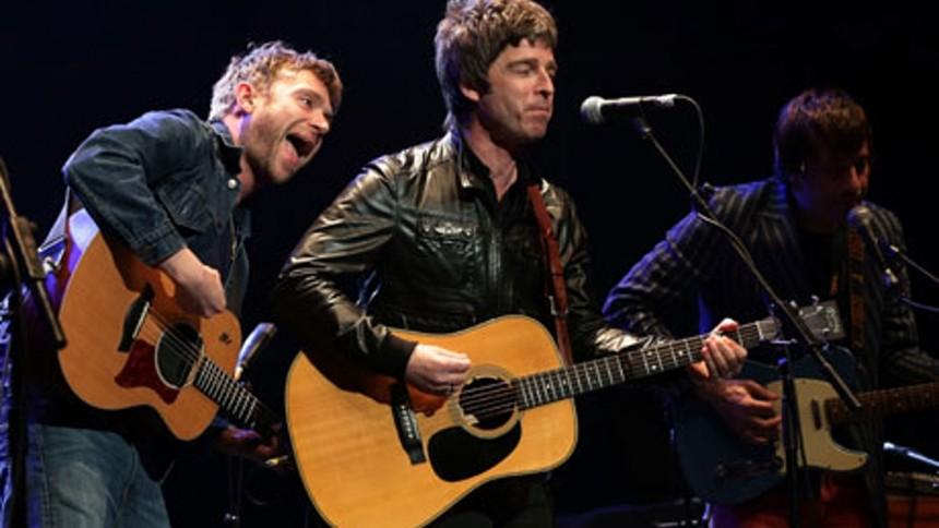 Ærkerivalerne Damon Albarn og Noel Gallagher spiller sammen