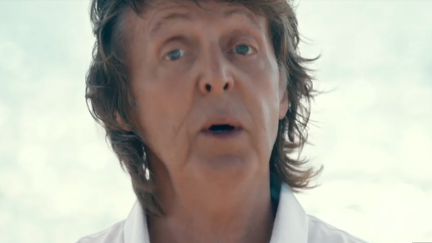 Se: Paul McCartney medvirker i ny musikvideo