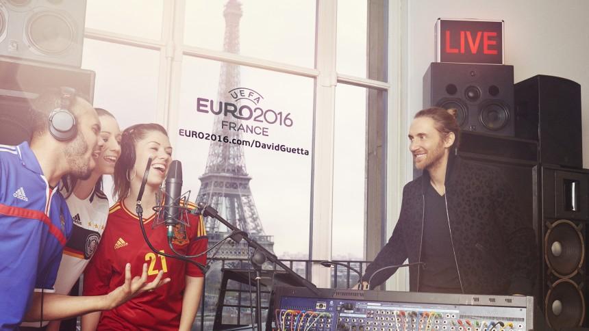 David Guetta inviterer dig med på EM-sangen 2016