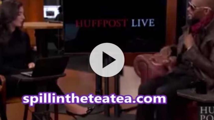 Video: R. Kelly udvandrer fra interview efter pædofili-spørgsmål