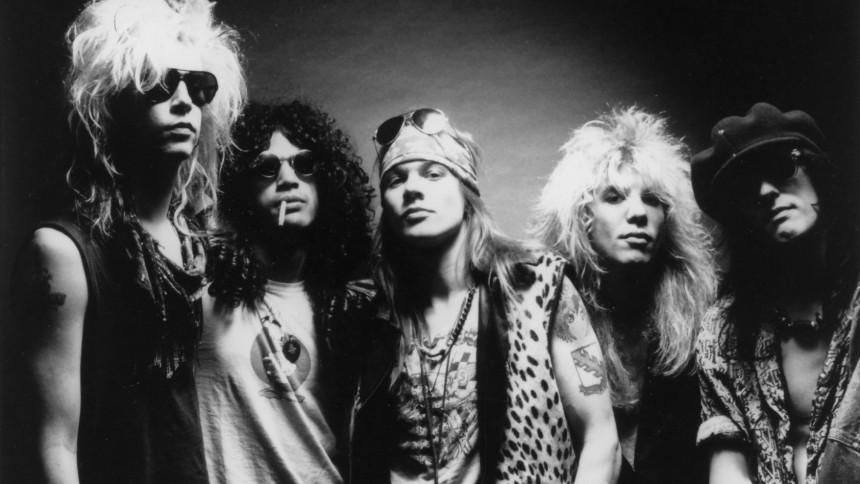 """Så tæt var Guns N' Roses på en """"ægte"""" genforening"""