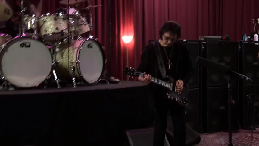 Video: Black Sabbath øver op til afskedsturné
