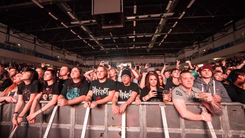 Det synes publikum om Slipknot i Esbjerg