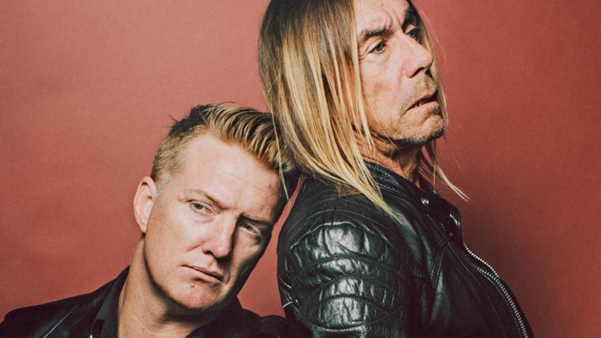 Iggy Pop udgiver album med Josh Homme – hør single